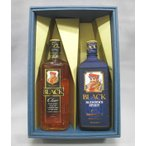 (洋酒ギフトセット)ブラックニッカクリア60周年記念ラベル700ml×ブラックニッカブレンダーズスピリット700ml (セット箱入り)