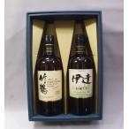 (洋酒ギフトセット)ニッカウイスキー竹鶴 ピュアモルト 700ml×ニッカウイスキー伊達 43度 700ml(セット箱入)