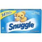 Snuggle スナッグルシート ブルースパークル 40ct 乾燥機用柔軟剤