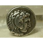 本物!古代ギリシャ アレキサンダーコイン27mm(s5)