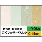 (コピー用紙) OKフェザーワルツ 90kg(0.14mm) 選べる9色,4サイズ