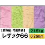 (ペーパークラフト用紙) レザック66 215kg(0.26mm) 選べる50色,4サイズ