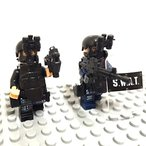 MODERN WAR SWAT 特殊部隊 ツーマンセル フル装備 レゴカスタムキット LEGOカスタムパーツ アーミー レゴ(LEGO)互換