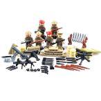 MODERN WAR 第二次世界大戦 イギリス軍 6体セット 武器セット アーミー LEGOカスタムパーツ アーミー レゴ(LEGO)互換