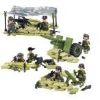 MODERN WAR 第二次世界大戦 アメリカ軍 米軍砲兵旅団 ジャングル部隊 7体 重火器フルセット LEGOカスタムパーツ アーミー レゴ(LEGO)互換