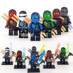 レゴ(LEGO)互換 ニンジャゴー 6体セット 封印の剣 並行輸入品