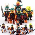レゴ(LEGO)互換 ニンジャゴー 海賊6体 猿6体セット 並行輸入品