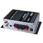 Lepy デジタル高音質パワーアンプ LP-2024A + Tripath TA2024 + 12V 5A 2chステレオ(20W+20W) カーアンプ デジタルアンプ 12V 5Aアダプター付属
