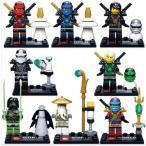 レゴ(LEGO)互換 ニンジャゴー 8体セット 並行輸入品