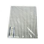 豆絞り 小紋てぬぐい 和手ぬぐい 日本手拭 豆しぼり 紺 83cm 1反物 10枚分 日本製