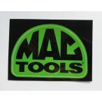 Mac tools (マックツールズ) ステッカー ドームロゴ Mサイズ グリーン 並行輸入品