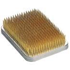 角型剣山 真鍮針 中角 ゴム付 83×58mm