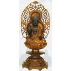 仏像 薬師如来像 青銅製 高さ63cm 344-02