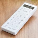 電卓付きタイマー 時計付バイブタイマー 計算機 アラーム音 振動 スリム ストラップ マグネット