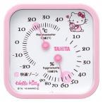 温湿度計 温度計 湿度計 タニタ ハローキティ ピンク 可愛い 置き掛け兼用 幅7.5cm