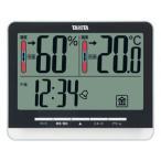 温度計 湿度計 デジタル温湿度計 タニタ 測定器 計測器 ブラック