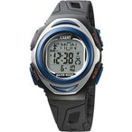 腕時計 メンズ 電波ソーラーウォッチ デジタル 防水 イグザート XXERT スポーティー ブルー