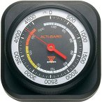 高度計 気圧計 アナログ式 薄型 コンパクト 日本製 登山 アウトドア キャンプ