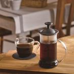 コーヒーメーカー プレス式 ハリオ カフェプレススリム ブラック