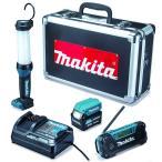 マキタ 防災用コンボキット CK1008 充電式LEDライトML104・充電式ラジオMR052・USBアダプタADP08・バッテリBL1040B・充電器DC10SA・専用アルミケース makita