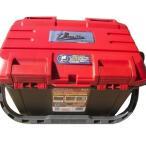 当店オリジナル【リングスター】大型工具箱 ドカット D-4500 レッド/ブラック バックルレッドタイプ 滑り止めクッションサービス