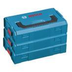 Yahoo!カナジン ヤフー店ボッシュ エルボックスミニ3個セット L-BOXX-MINI3 LS-Tシリーズやi-BOXXの中に入ります 工具箱 お得!! BOSCH