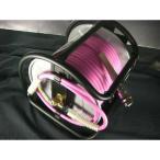【当店オリジナル】マッハ 高圧ドラム PKD-630C 超ソフト高圧ホース付 ピンク