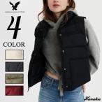アメリカンイーグル 中綿ベスト ダウン レディース AE Puffer Vest 全4色 大きいサイズ