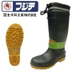 長靴 安全長靴 耐油 ロング レインブーツ 大きいサイズ 防水 富士手袋工業 PVC安全ブーツ F-9665
