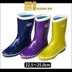 長靴 かわいい レインブーツ 防水 喜多 レディースブーツ LR-020
