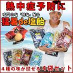 【エントリーでP5倍!】塩飴 業務用 熱中症 対策 猛暑de塩飴1kg×3袋 お試しセット