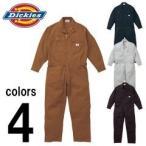 ショッピングつなぎ 3L〜5L Dickies(ディッキーズ) 秋冬作業服 年間物つなぎ服 702