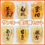 サンヨー堂 果実ゼリー人気6種セットNo.1