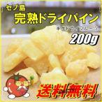 ドライフルーツ パイン 200g セブ島完熟パイン使用 濃厚半生タイプ