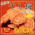 種抜き干し梅500g 塩控えめで甘酸っぱく食べ易いです。 【メール便送料無料】