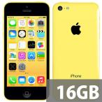 iPhone5C SIMフリー 格安SIM利用可 16GB A1456技適マーク有 イエロー★