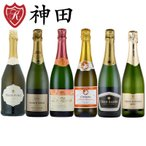 送料無料のスパークリングワインセット シャンパン製法のカバ