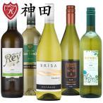 白ワインセット 送料無料 赤字覚悟の白ワイン5本セット スペイン オーストラリア 飲み比べ