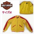 ショッピングハーレーダビッドソン ハーレーダビッドソン ウールジャケット 30328-40 イエロウ バイカーズジャケット