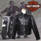 ハーレーダビッドソン ライダース レザージャケット 40132BLK/ブラック バイカー メンズ カジュアル