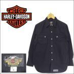 ショッピングハーレーダビッドソン ハーレーダビッドソン ウェスタンシャツ HEARLEY-DAVIDSON  バイカー長袖シャツ