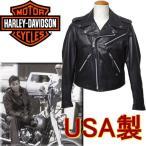 ショッピングハーレーダビッドソン ライダース レザージャケット ハーレーダビッドソン 米国製 98100-01AM ブラック