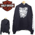 ショッピングハーレーダビッドソン ハーレーダビッドソン HEARLEY-SAVIDSON 米国製 スウェットパーカー 送料無料