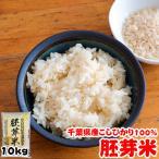 米 お米 10kg 28年度 千葉県産 胚芽米 こしひかり 5kgx2袋 栄養満点