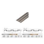 アルミ敷居 (下) レール イーグル ハマクニ ダブルP-33-4005mm TKブロンズ 436-211