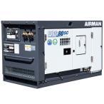 50000-115 エンジンコンプレッサー PDS75SC AC付き 北越工業 送料無料