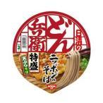 日清食品 日清のどん兵衛 特盛天ぷらそば(西)1箱12食