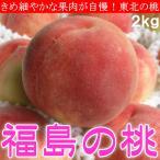 福島県産 ミスピーチ 桃 もも あかつき 白桃 モモ 2kg 化粧箱入 送料無料 ご予約