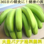 Banana - 送料無料 365日の朝食に 健康の源 バナナ を大量でお届け!(他の商品と同梱不可)df