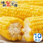 とうもろこし 味来 L〜2Lサイズ 10本入 北海道 十勝 産地直送 とうきび お取り寄せ グルメ コーン 甘味 スウィートコーン 生で食べれる